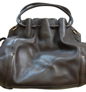 Cole Haan Handbag Leather Brown Shoulder Bag