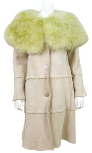 Chanel Fur Turkey Feather Fur Coat
