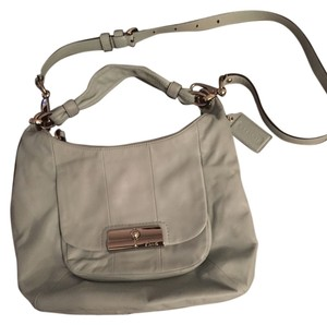Coach Kristin Leather Shoulder Hobo Bag