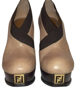 Fendi Beige and brown Boots