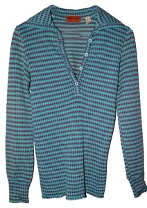 Missoni Button Down Shirt Blue