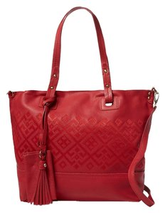 Isabella Fiore Tote in Red