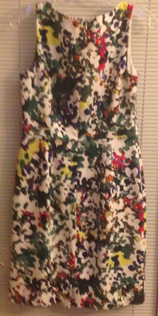 Ann Taylor short dress Mulitcolored Sleeveless Cotton Comfortable Spring Summer on Tradesy