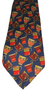 Gucci GUCCI MUGS PRINTED SILK TIE