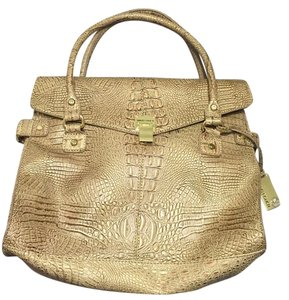 Marc Fisher Satchel in Gold