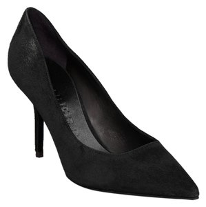 Burberry Shoe Heels Heel Pump Pointed Black Pumps