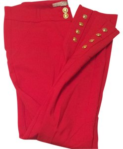Dynamite Work Pencil Skinny Pants Red