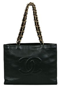 Chanel Shopper Tote Leather Shoulder Bag