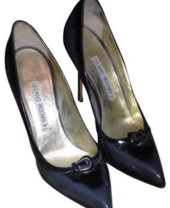 Luciano Padovan Grey Pumps