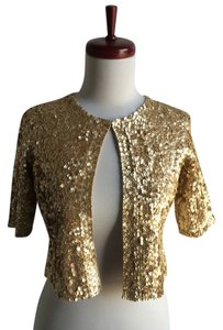 Dana Buchman Sequin Bolero Sweater