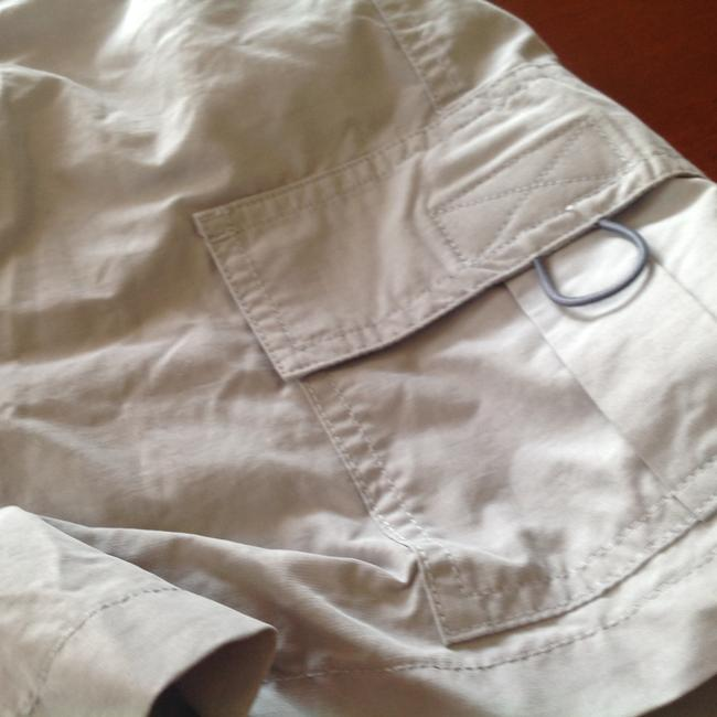 Express Velco Tabs Real Running Great Fit Qnd Style Cargo Shorts Light gray Image 4