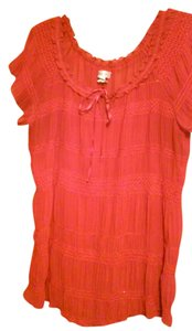 Casual Land Top RED