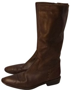 Eddie Bauer Dark Leather brown Boots