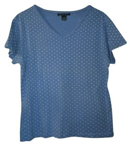 Reference Point T Shirt Light blue/white