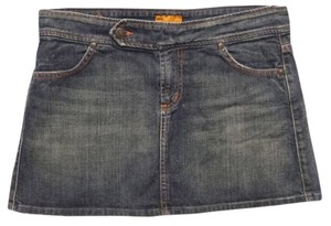 James Jeans Mini Skirt denim blue