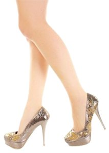 Celeste Bronze Pumps