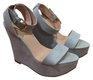 ALDO Light Blue Wedges