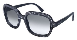 Valentino New! Valentino Studded Noir Crystal Sunglasses!