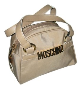 Moschino Satchel in Tan