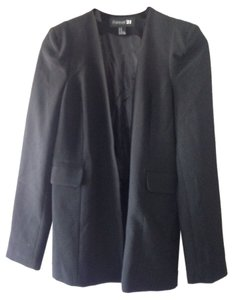 Forever 21 Jacket Textured Business Casual Black Blazer