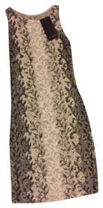 Beige/Metallic/Black Maxi Dress by St. John