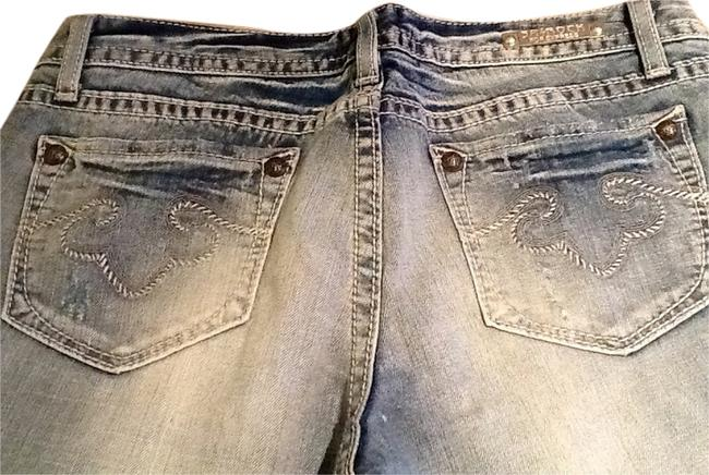 Express Light Wash Flare Leg Jeans Size 33 (10, M) Express Light Wash Flare Leg Jeans Size 33 (10, M) Image 1
