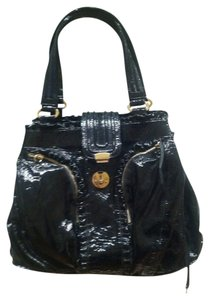 Treesje Patent Leather Shoulder Bag