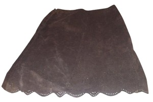 David Brooks Skirt Brown