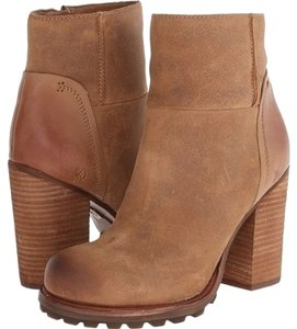Sam Edelman Franklin Womens Whiskey Brown Boots