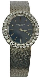 Patek Patek Philippe Lady's White Gold Diamond Wristwatch