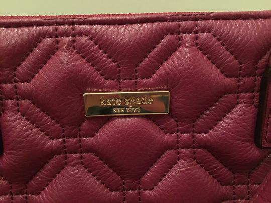 Kate Spade Phoebe Emerson Place Cobble Hill Devin Quilted Satchel in Purple Plum Image 11