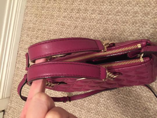 Kate Spade Phoebe Emerson Place Cobble Hill Devin Quilted Satchel in Purple Plum Image 7