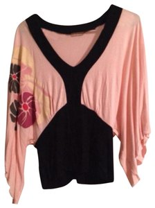 Forever 21 Top Pink And Black