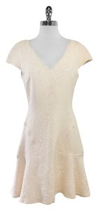 Club Monaco short dress Blush Jacquard Short Sleeve on Tradesy