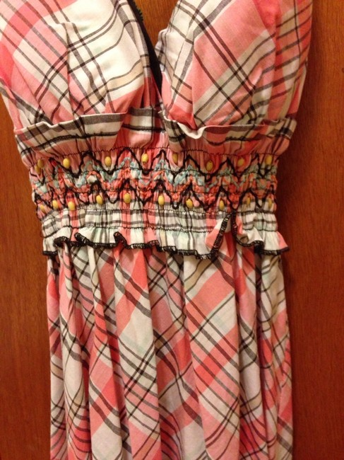 HeartSoul short dress Pink White Brown on Tradesy