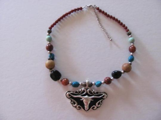 Other WESTERN LOOK NECKLACE W/PENDANT