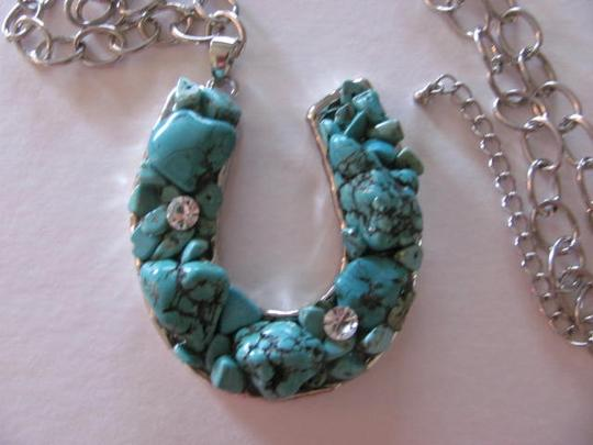 Other SILVER WESTERN NECKLACE TURQUOISE