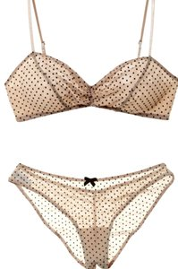 Eberjey Eberjey Dotty Cinched Bra And Panty Set