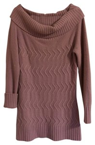 Sisley Oversized Belted Dress Sweater