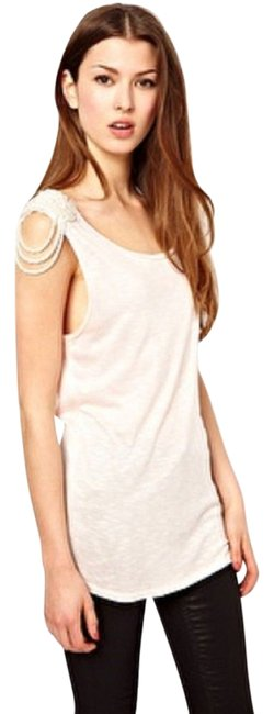 Other Pearl Cut-out Top Blush Pink