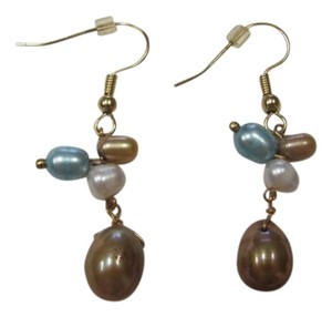 MARCIA MILLER NEW COLORED PEARL PIERCED