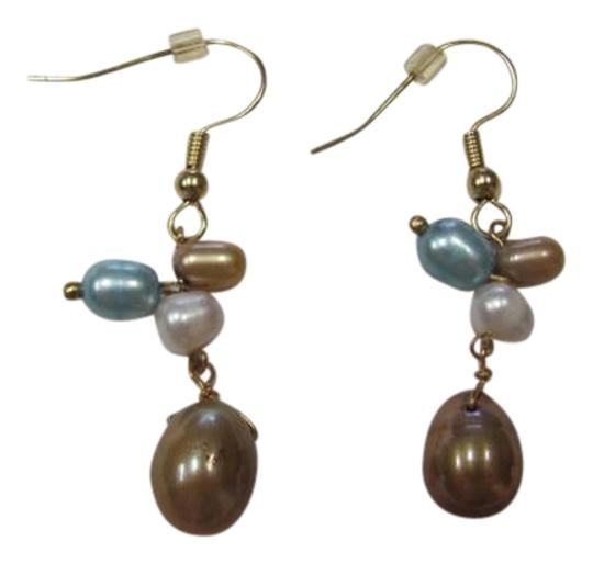 Preload https://item1.tradesy.com/images/gold-blue-white-new-colored-pearl-pierced-earrings-720570-0-0.jpg?width=440&height=440