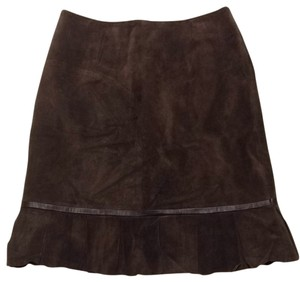 Yvonne la Marie Skirt Brown