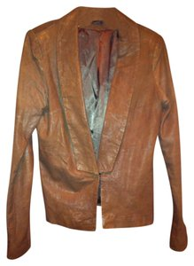 LINE Brown Leather Jacket