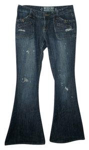 Mossimo Flare Leg Jeans-Medium Wash