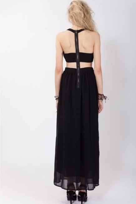 Black Maxi Dress by Stylestalker Maxi Cutout Nastygal Shopbop Asos Topshop Planet Blue Blu Moon Free People Stone Cold Fox Blue Life Nightcap Lover And