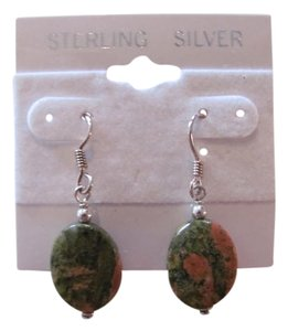 Other OVAL STONES STERLING SILVER EARRINGS