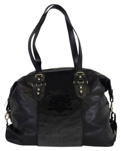 Fratelli Rossetti Black Leather Shoulder Bag