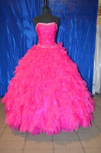 Mori Lee Fuchsia 88015 Dress