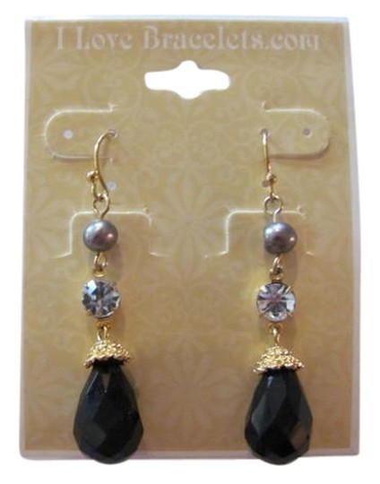 Preload https://img-static.tradesy.com/item/720916/black-gray-new-dangle-earrings-0-0-540-540.jpg